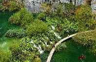See im Plitvice-Nationalpark