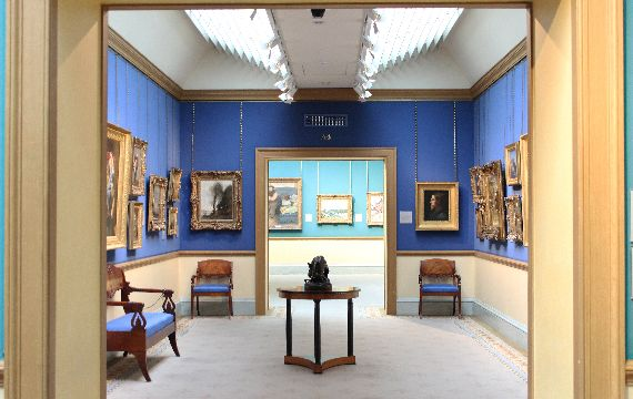 Die National Gallery of Scotland in Edinburgh, Gro�britannien