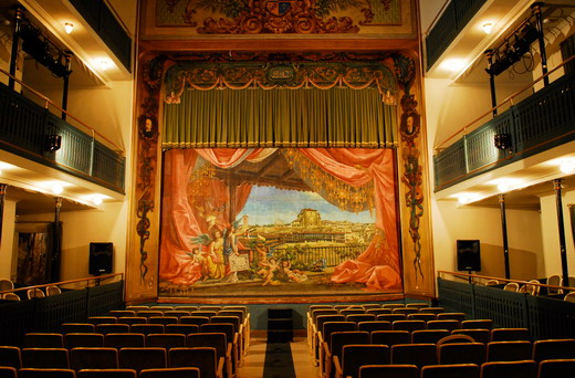 Das Theater Lope de Vega in Chinch�n