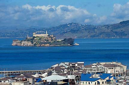 Alcatraz, on the Rock